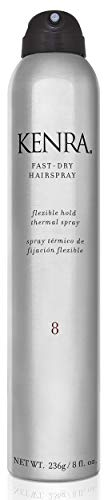 Kenra Fast Dry Hairspray 8 | Flexible Hold Thermal Spray |...