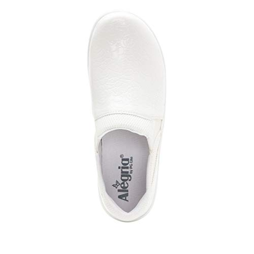 Alegria Duette Womens Professional Shoe Flourish White 5 M...