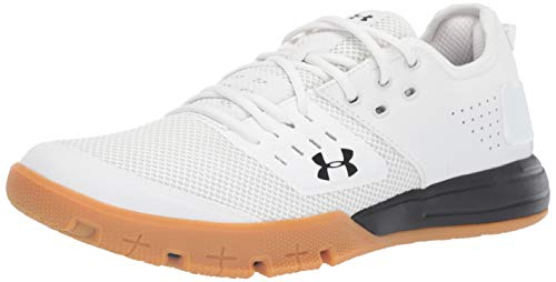 Under Armour Men's Charged Ultimate 3.0 Sneaker, Onyx White...