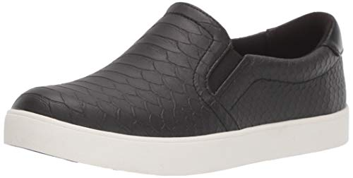 Dr. Scholl's Shoes Women's Madison Sneaker, Black, 5