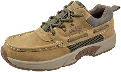 RUGGED SHARK Bill Dance Pro Boat Shoe, Premium Leather and...
