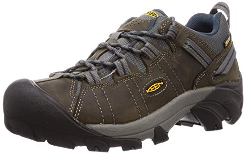 KEEN Men's Targhee II Hiking Shoe, Gargoyle/Midnight Navy -...