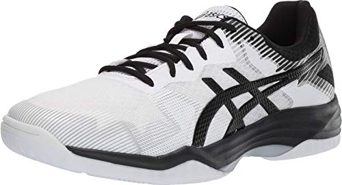 ASICS Men's Gel-Tactic 2 Volleyball Shoes, 9M, White/Black