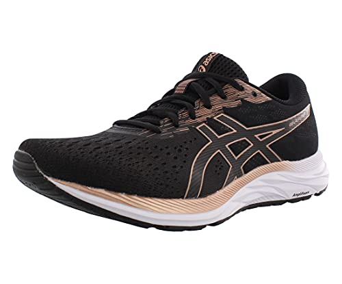 ASICS Women's Gel-Excite 7 Running Shoes, 5M, Black/Rose...