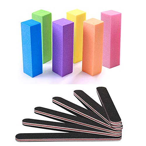 Nail Files and Buffer, TsMADDTs Professional Manicure Tools...