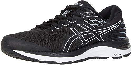 ASICS Men's Gel-Cumulus 21 Running Shoes, 14W, Black/White