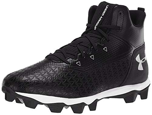 Under Armour Men's Hammer Mid RM Football Shoe, Black...