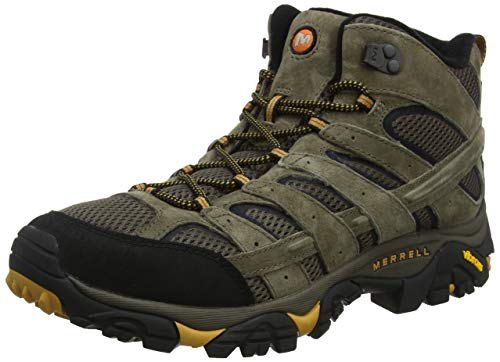 Merrell Men's Moab 2 Vent Mid Hiking Boot, Walnut, 11.5 M US
