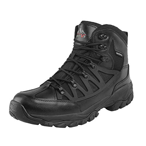 NORTIV 8 Men's Waterproof Hiking Boots Lightweight Mid Ankle...