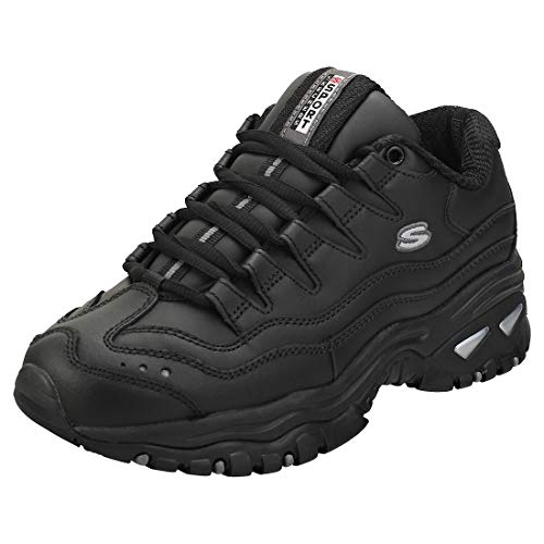 Skechers Sport Women's Energy Sneaker,Black,6 M US