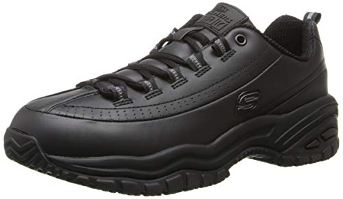 Skechers for Work Women's Soft Stride-Softie Lace-Up, Black,...