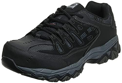 Skechers for Work Men's Cankton-U Industrial Shoe,black,12...