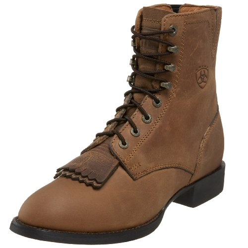 ARIAT womens Heritage Lacer Ii Western Leather Boot,...
