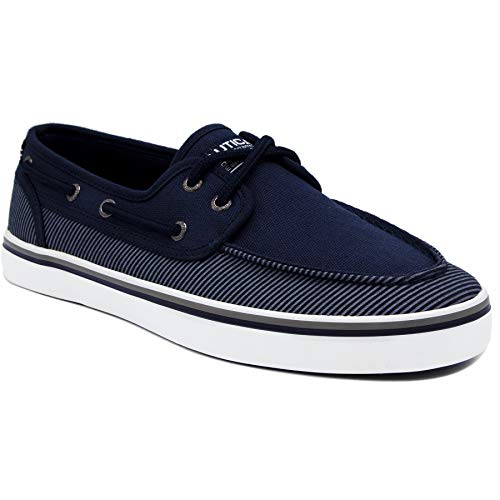 Nautica Men's Spinnaker Lace-Up Boat Shoe, Casual Loafer,...