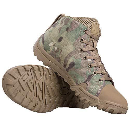 FREE SOLDIER Men's Tactical Boots Ankle Boots Lightweight...