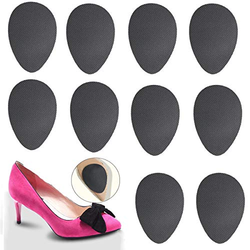 Non-Slip Shoes Pads (Black 5pairs) Self-Adhesive Shoe Grips...