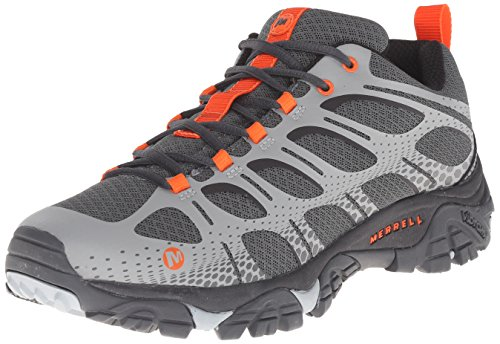 Merrell Men's Moab Edge Hiking Shoe, Grey, 10.5 M US