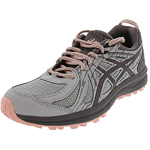 ASICS Women's Frequent Trail, Mid Grey/Carbon, 5 B