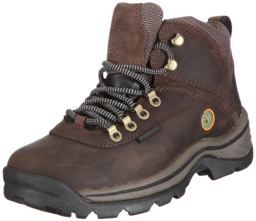 TimberlanD Women's White LeDge MiD Ankle Boot,Dark Brown,7.5...