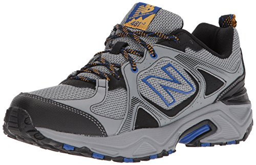 New Balance Men's 481 V3 Trail Running Shoe, Steel/Black, 7...