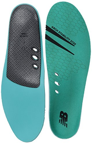New Balance Insoles 3720 Arch Stability Insole Shoe, Teal,...