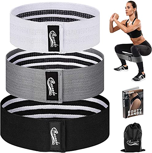 Recredo Booty Bands, Non Slip Resistance Bands for Legs and...